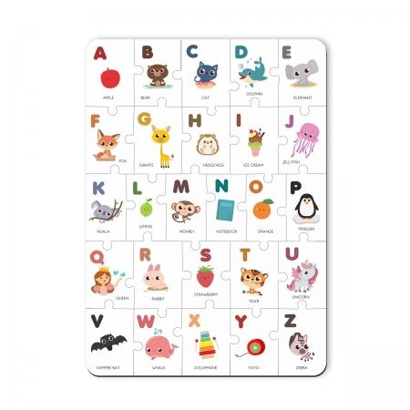 Brinquedo Educativo Q C Alfabeto Ingles -