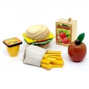 Brinquedo Montessori Comidinhas Kit Sanduiche