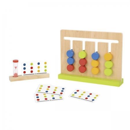 Brinquedo Montessori Educativo Logic Game