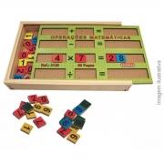 Brinquedo Montessori Educativo Operações Matemáticas