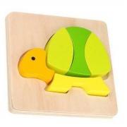 Brinquedo Montessori Mini Encaixe - Tartaruga