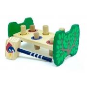 Brinquedo Pedagógico Bate  Bancadinha Montessori