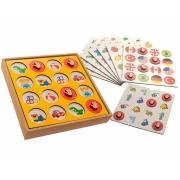 Brinquedo Pedagógico e Educativo - Memória 8 X 1