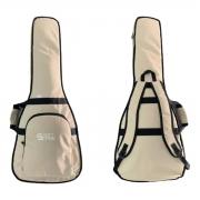 Capa Guitarra Formato Acolchoada Luxo Start Soft Case