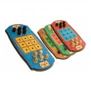 Jogo Da Velha Em Madeira Brinquedo Educativo Pedagógico