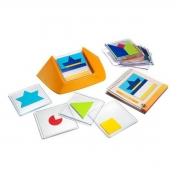 Jogo Tabuleiro Raciocínio Lógico Educativo Colour Code
