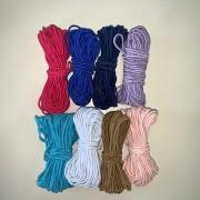 Kit Elástico Roliço 2 mm a 2,5 mm 8 cores