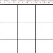 Tecido Tricoline 100% Algodão 0,50CMx1,50CM de Largura - Coleção Grid