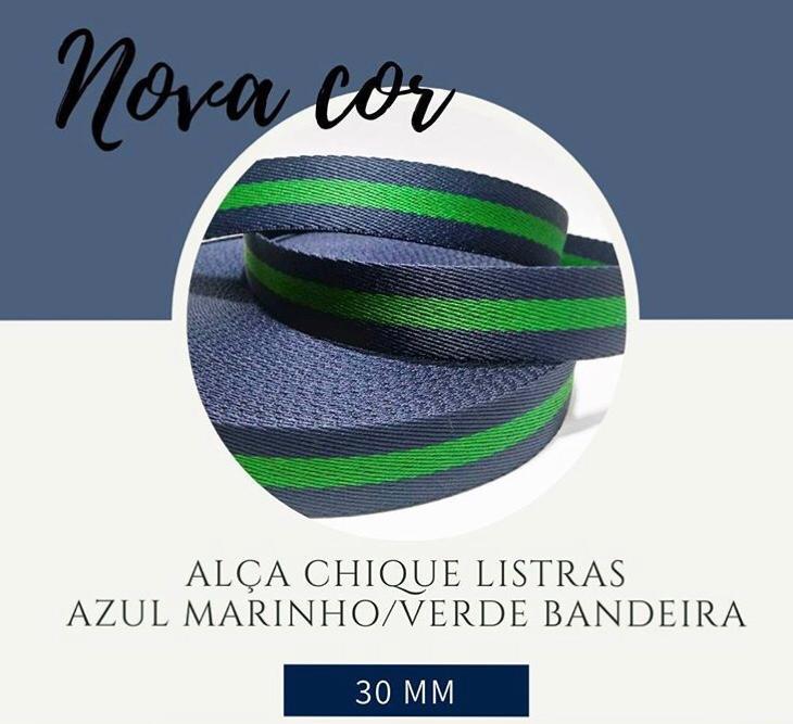 Alça Chic Fita Poliéster 40MM Com 5M