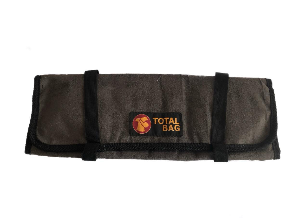 Bolsa Para Facas Professional Cheff Total Bag - Cinza