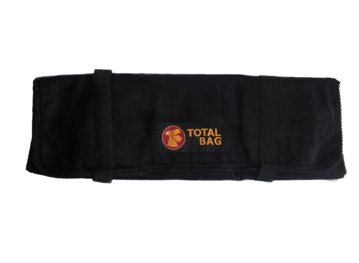 Bolsa Para Facas Professional Cheff Total Bag - Preta