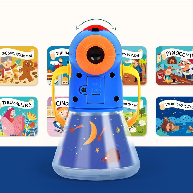 Brinquedo Lúdico Conjunto Lanterna - Contando Histórias