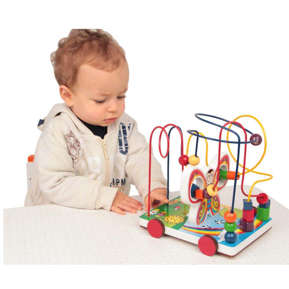 Brinquedo Educativo Aramado Borboleta - 19 peças