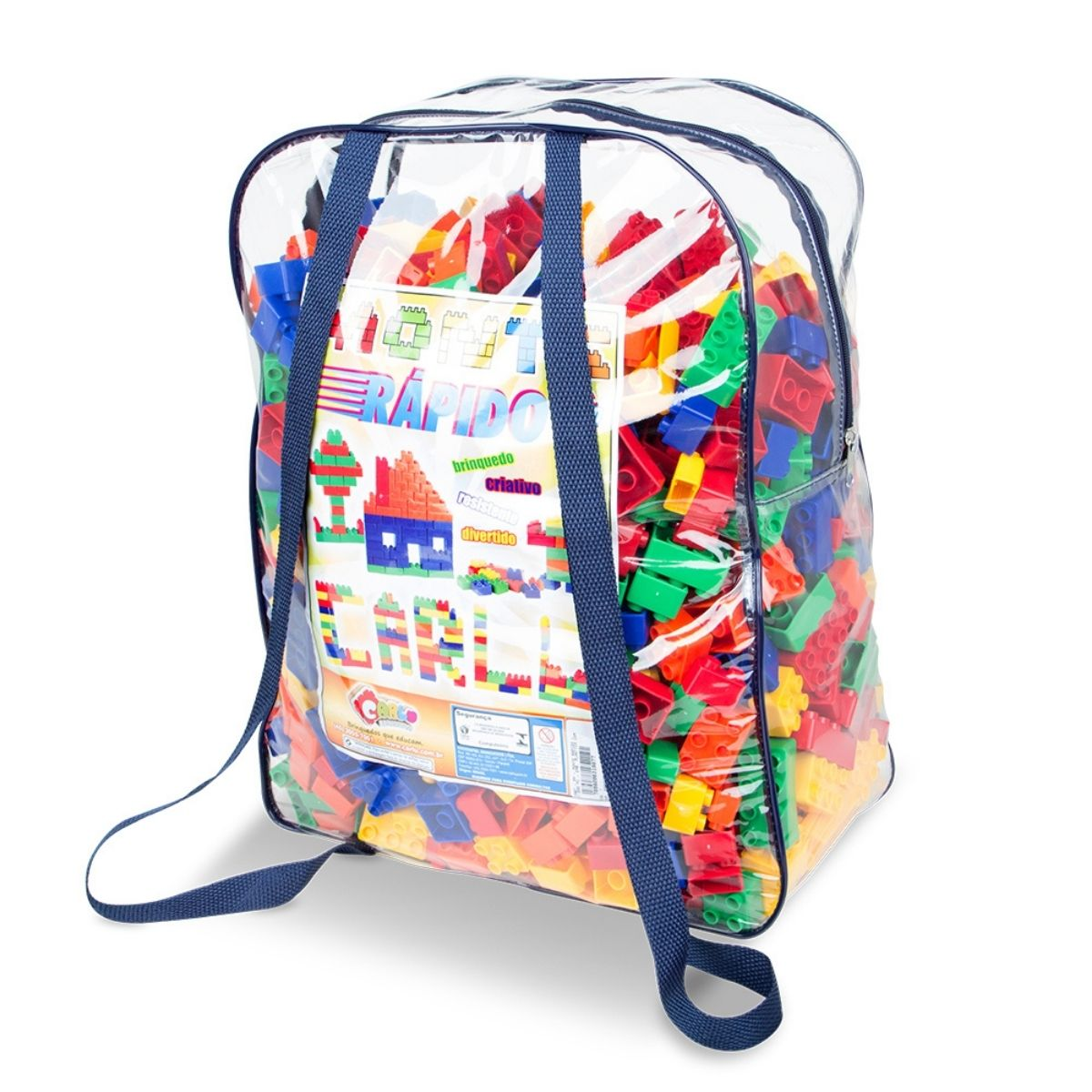 Brinquedo Educativo Conectando Formas - 1000 peças