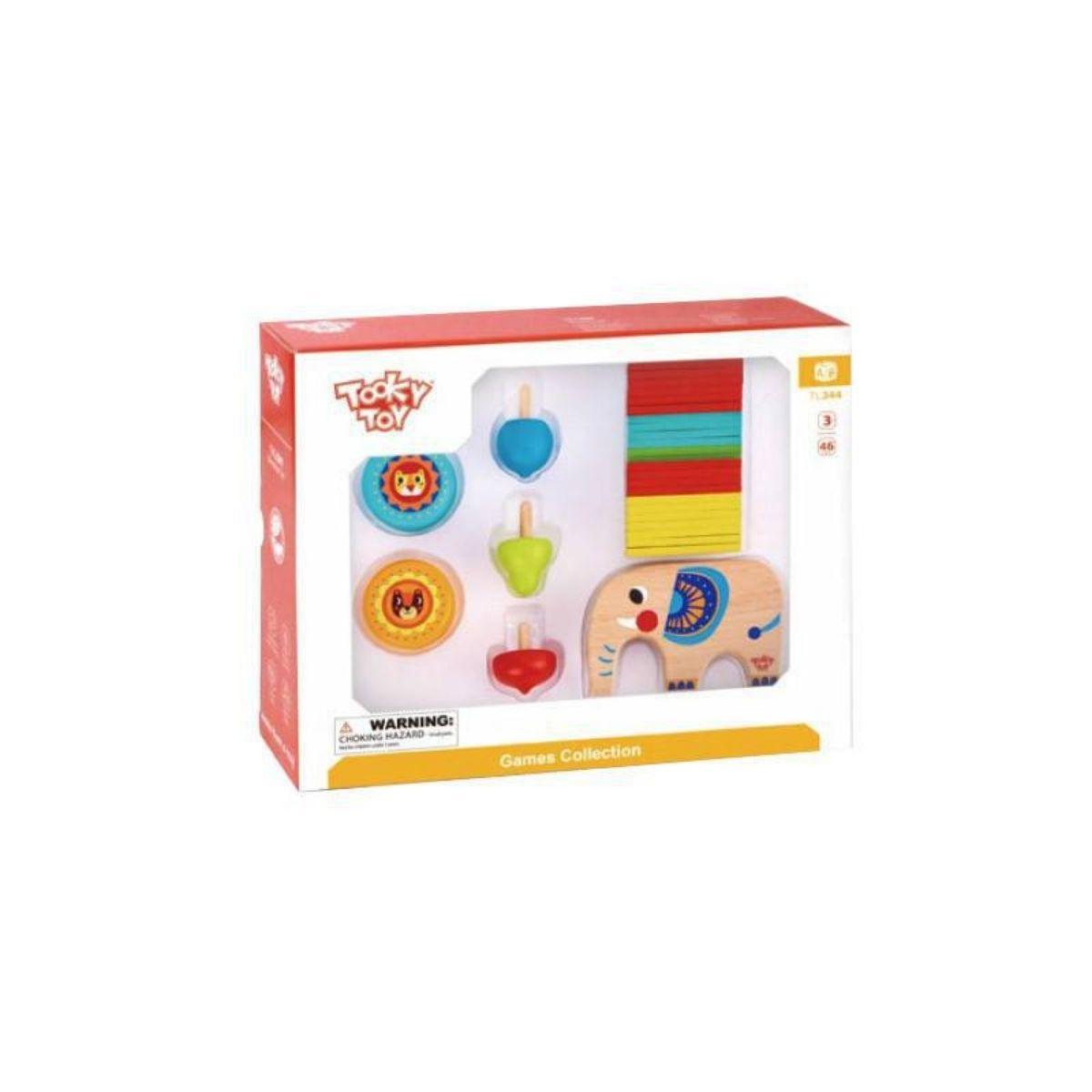 Brinquedo Educativo Jogo de Equilíbrio - Game Elefante