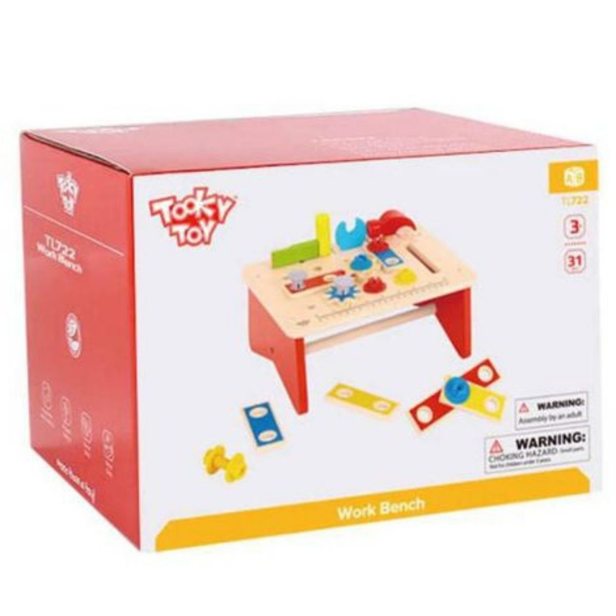 Brinquedo Educativo Lúdico Bancadinha Ferramentas