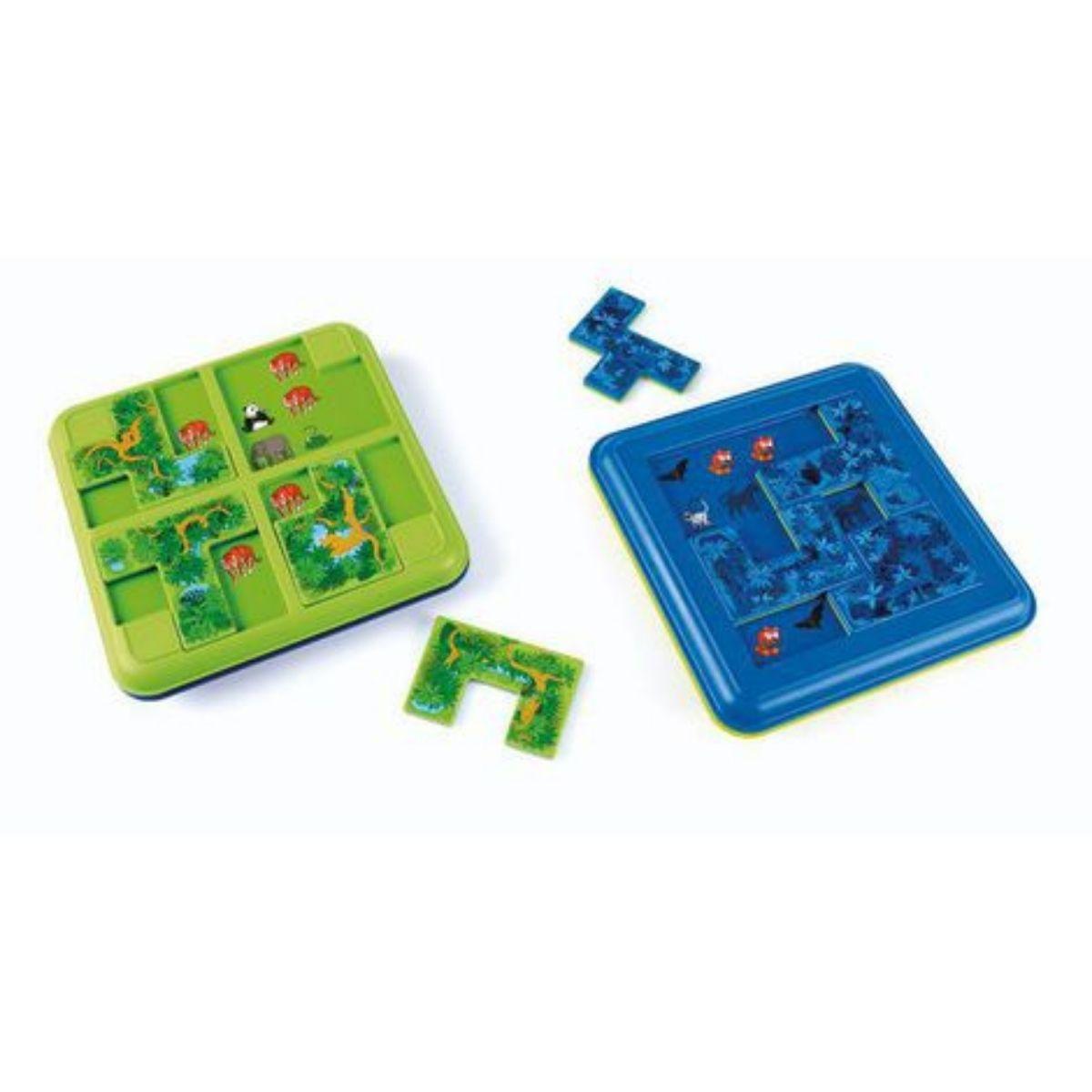 Brinquedo Educativo  Lúdico -Esconder e Procurar Selva