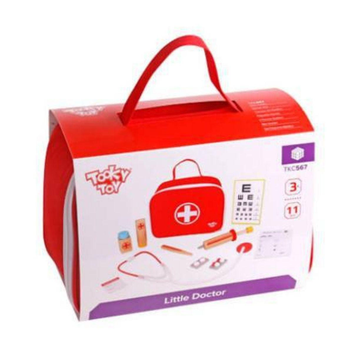 Brinquedo Educativo Lúdico Maleta Médica