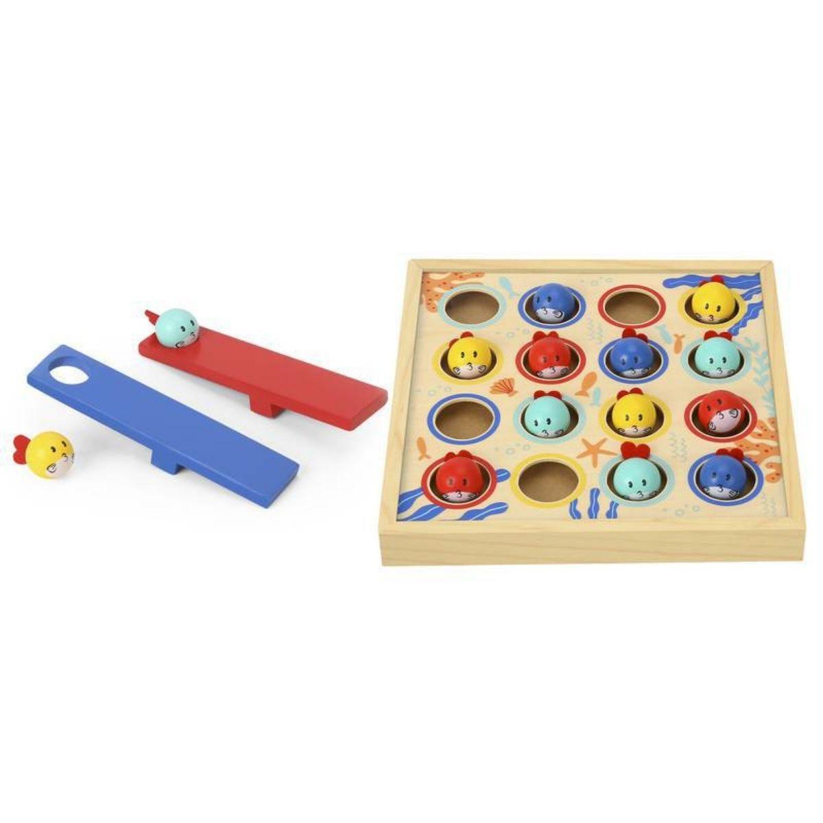 Brinquedo Educativo Lúdico Mergulho Dos Peixinhos