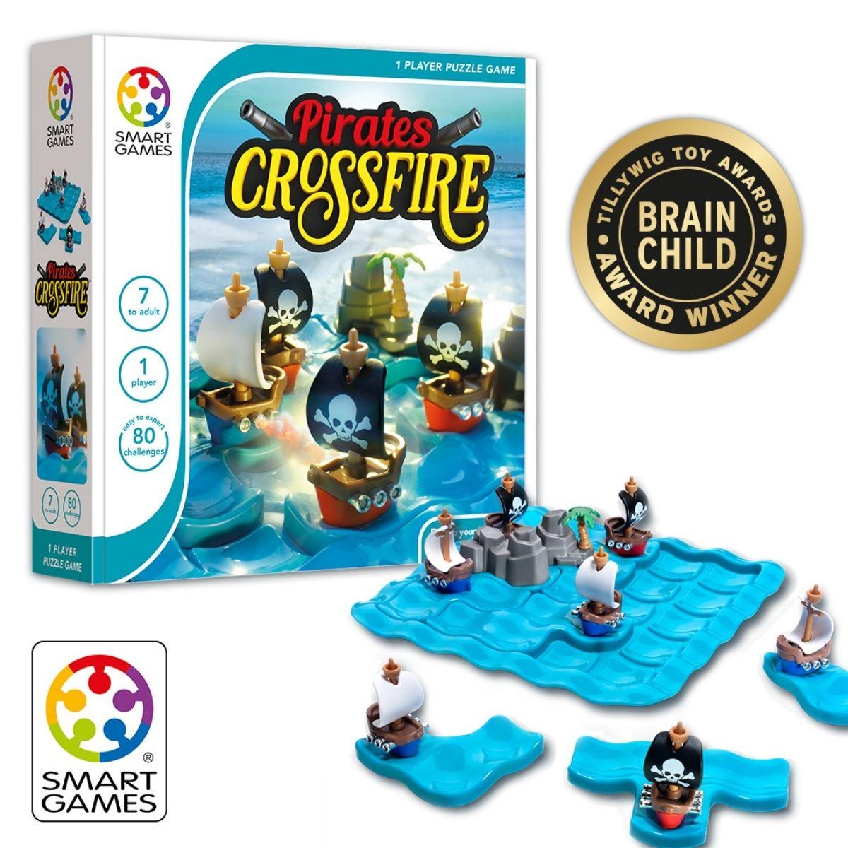 Brinquedo Educativo  Lúdico -Pirata Crossfire
