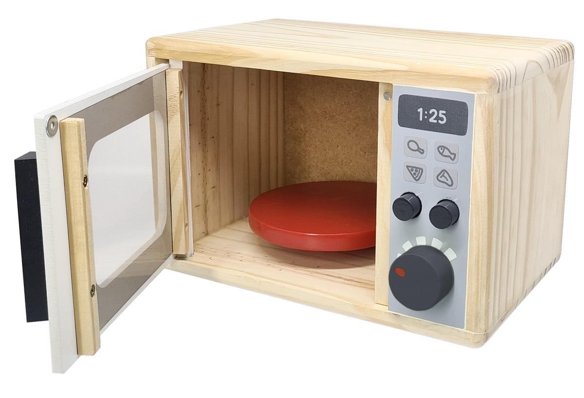 Brinquedo Educativo Micro-ondas  Brinquedo Infantil MDF