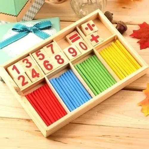 Brinquedo Educativo Montessori Matemática Inteligência