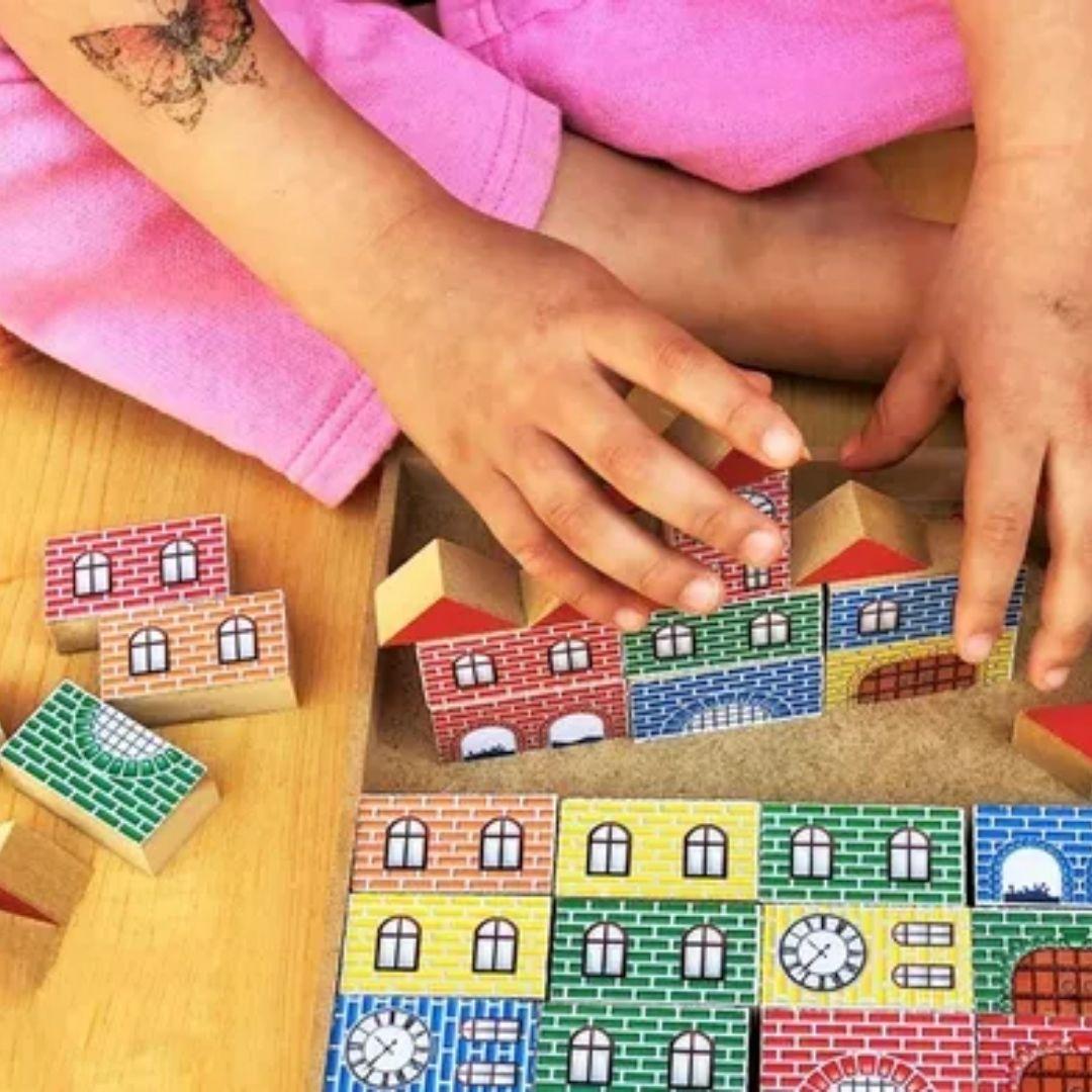 Brinquedo Educativo Pedagógico Pequeno Construtor