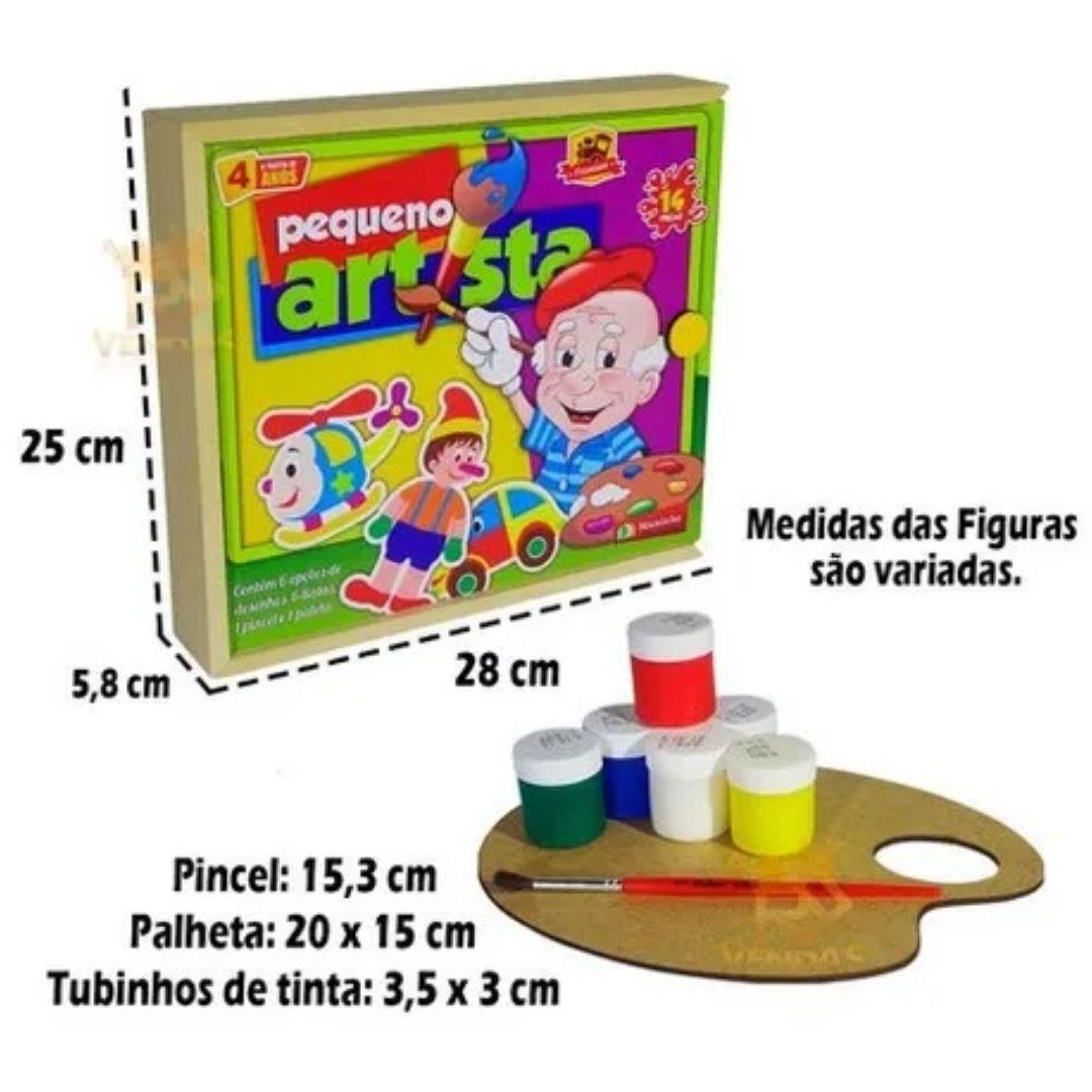 Brinquedo Educativo Pequeno Artista Premium