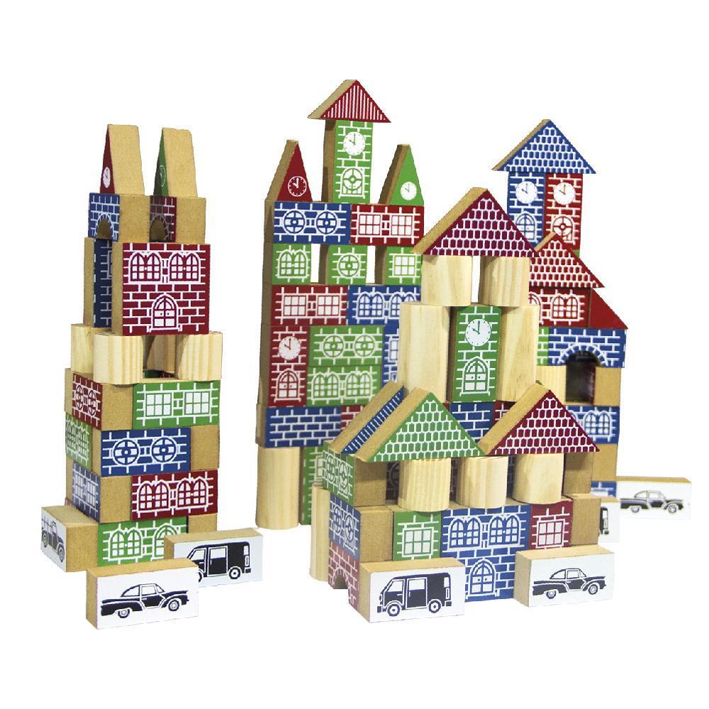 Brinquedo Educativo  Pequeno Construtor e Engenheiro 150pç
