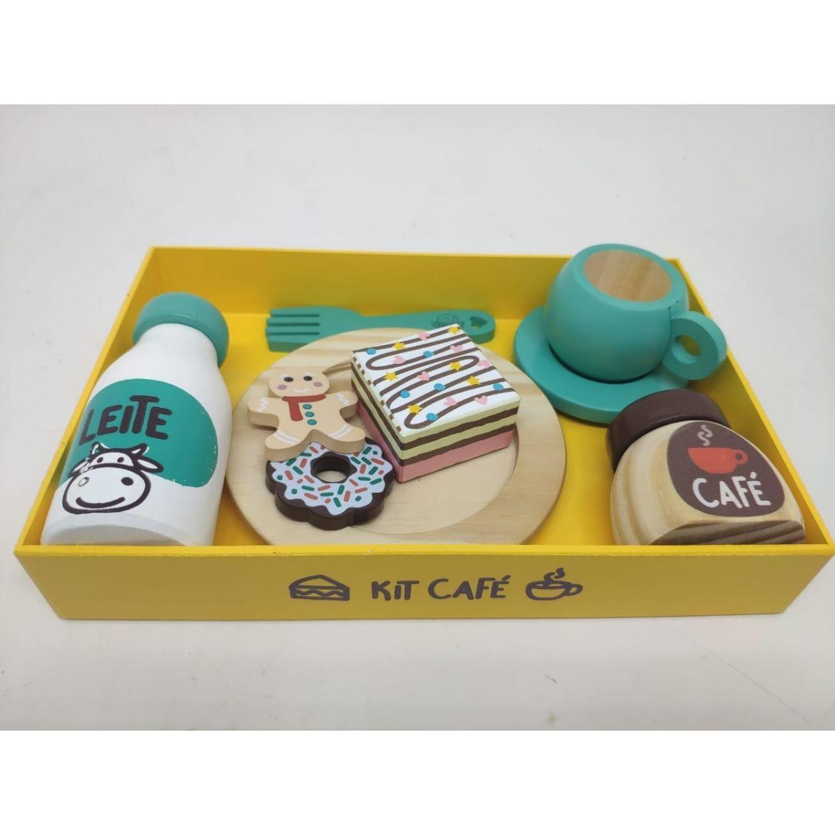 Brinquedo Montessori Comidinhas Kit Café Da Manhã