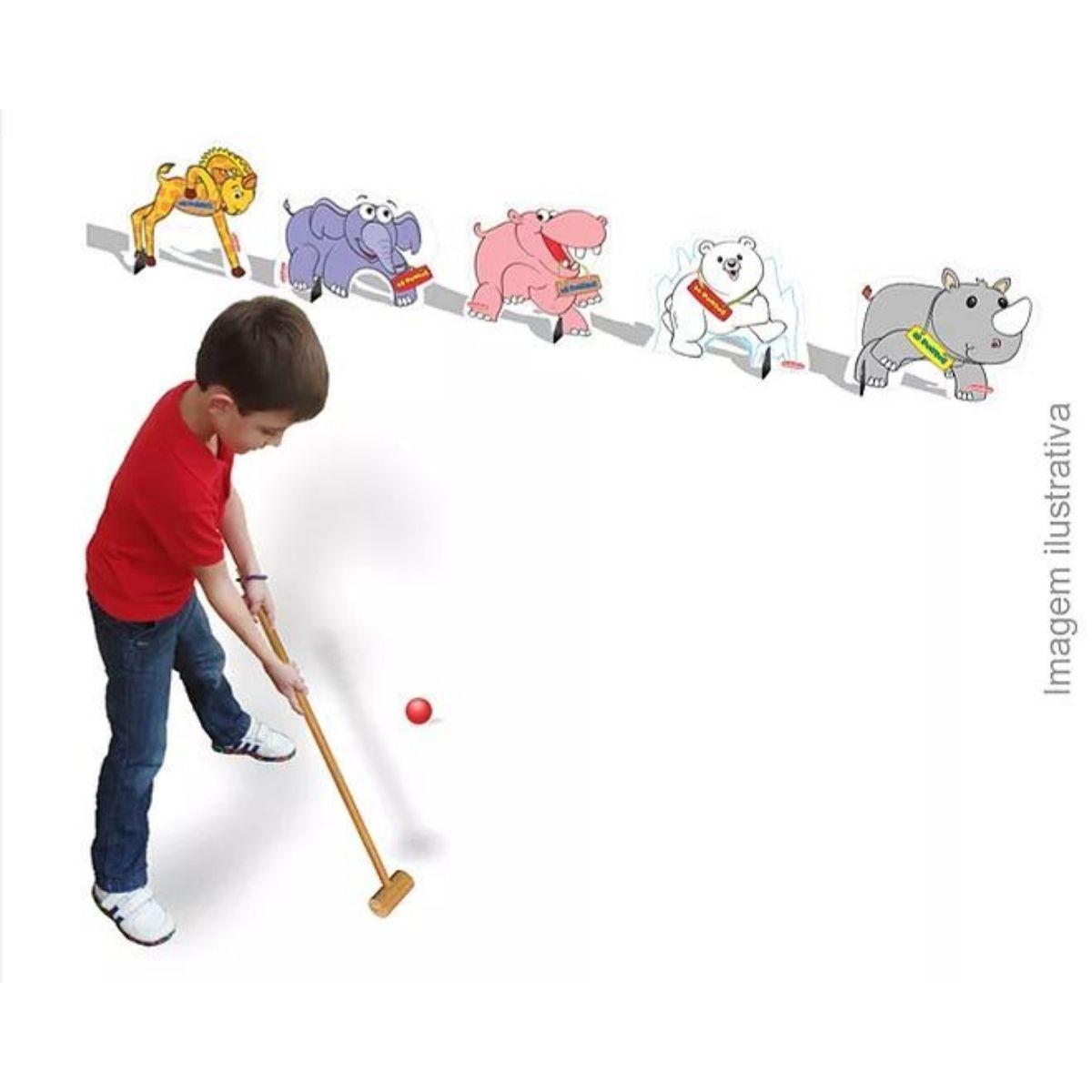 Brinquedo Montessori Golf Animal