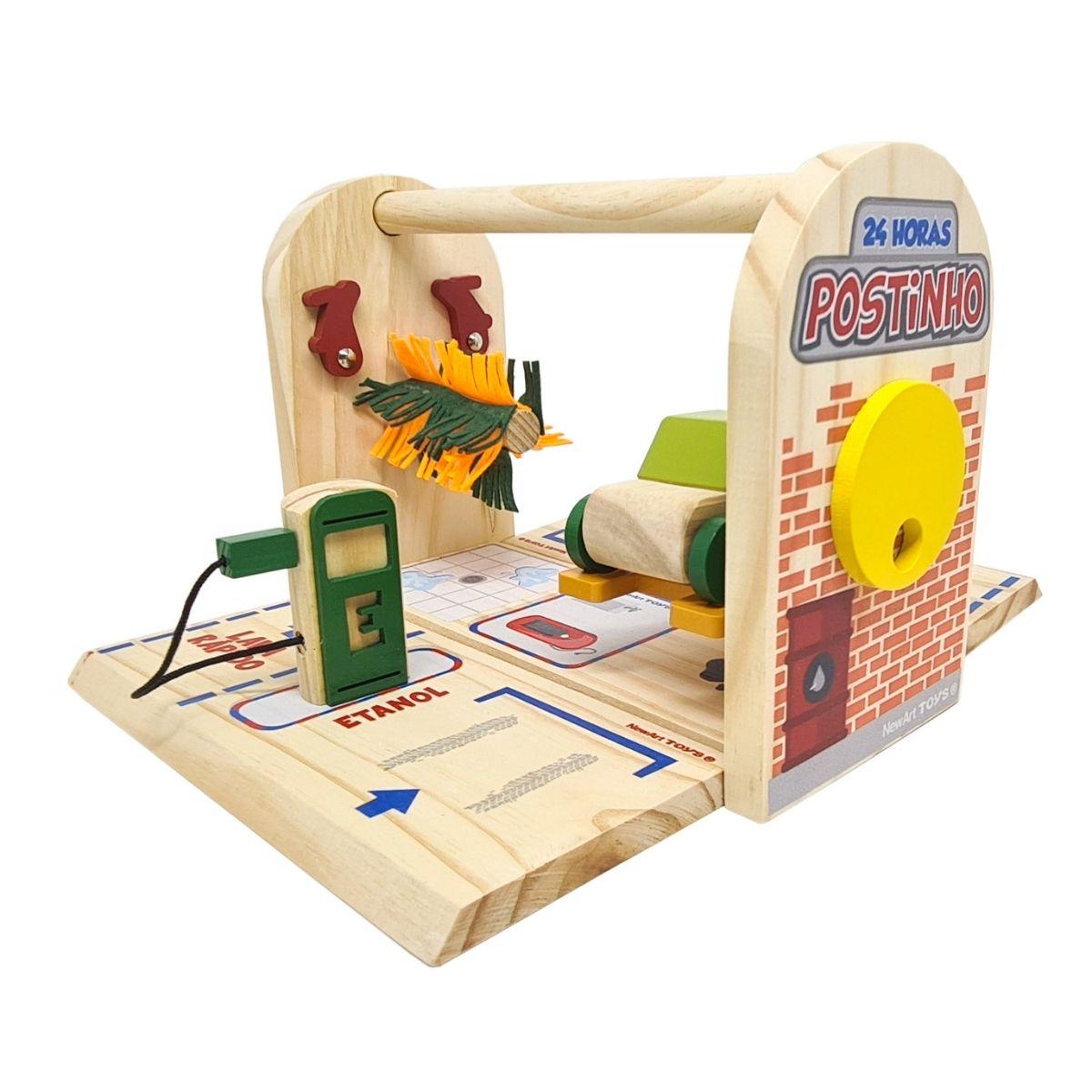 Brinquedo Montessori - Postinho De Maleta