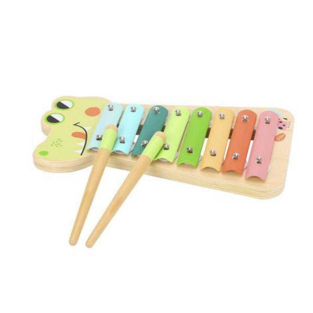 Brinquedo Musical Xilofone Instrumento Infantil Lúdico