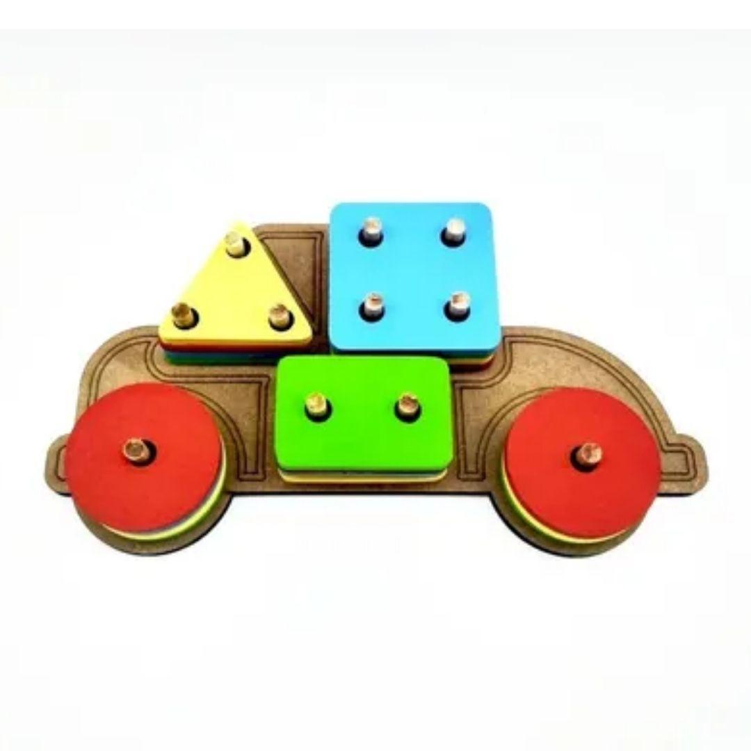 Brinquedo Pedagógico e Educativo - CARRO