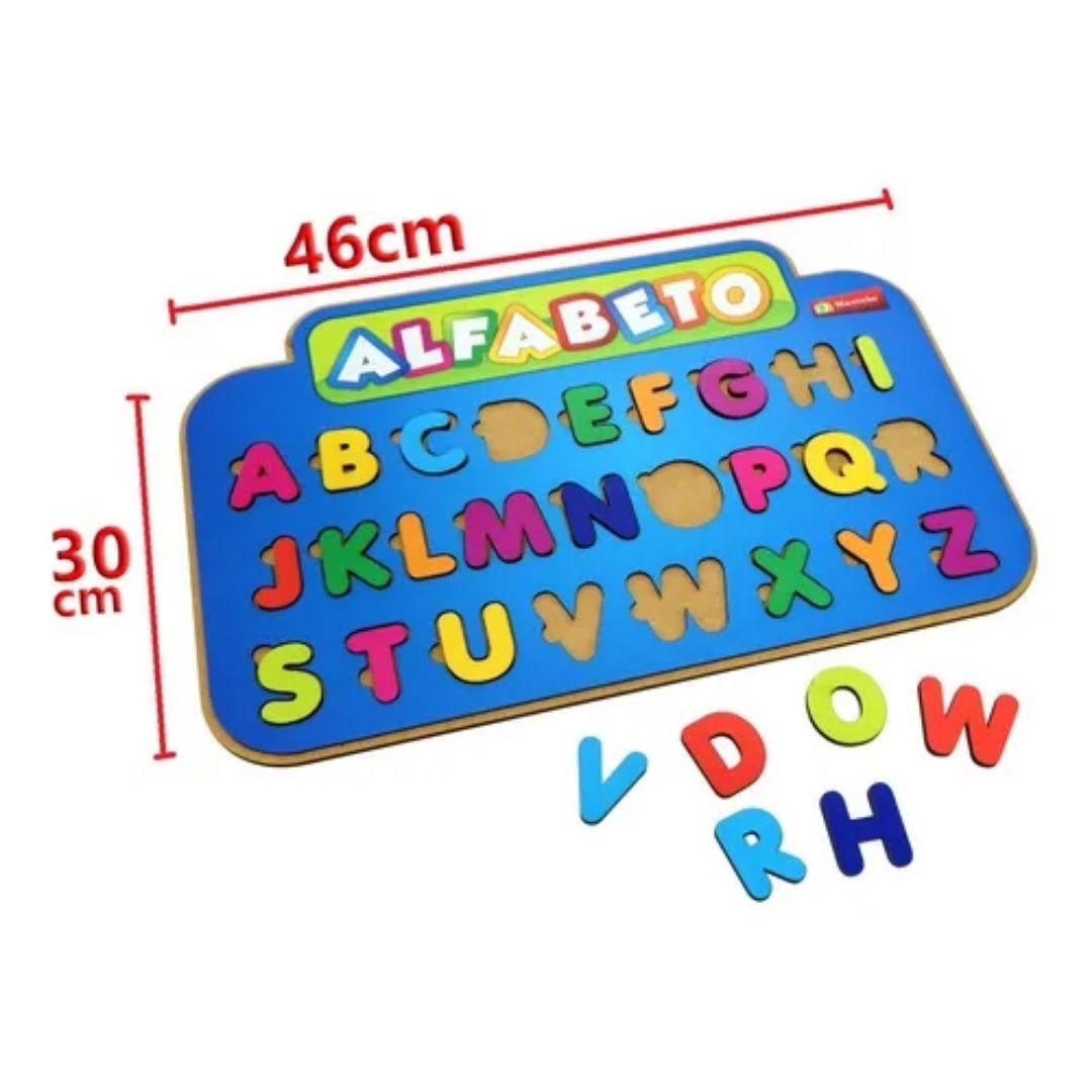 Brinquedo Pedagógico e Educativo - Painel Alfabético
