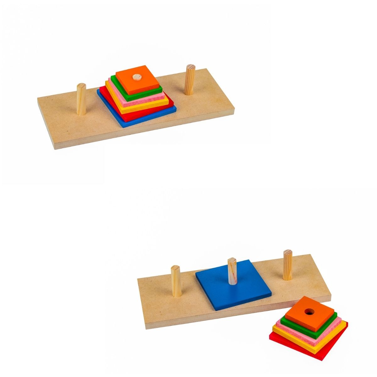 Brinquedo Torre De Hanói  Jogo Educativo Pedagógico