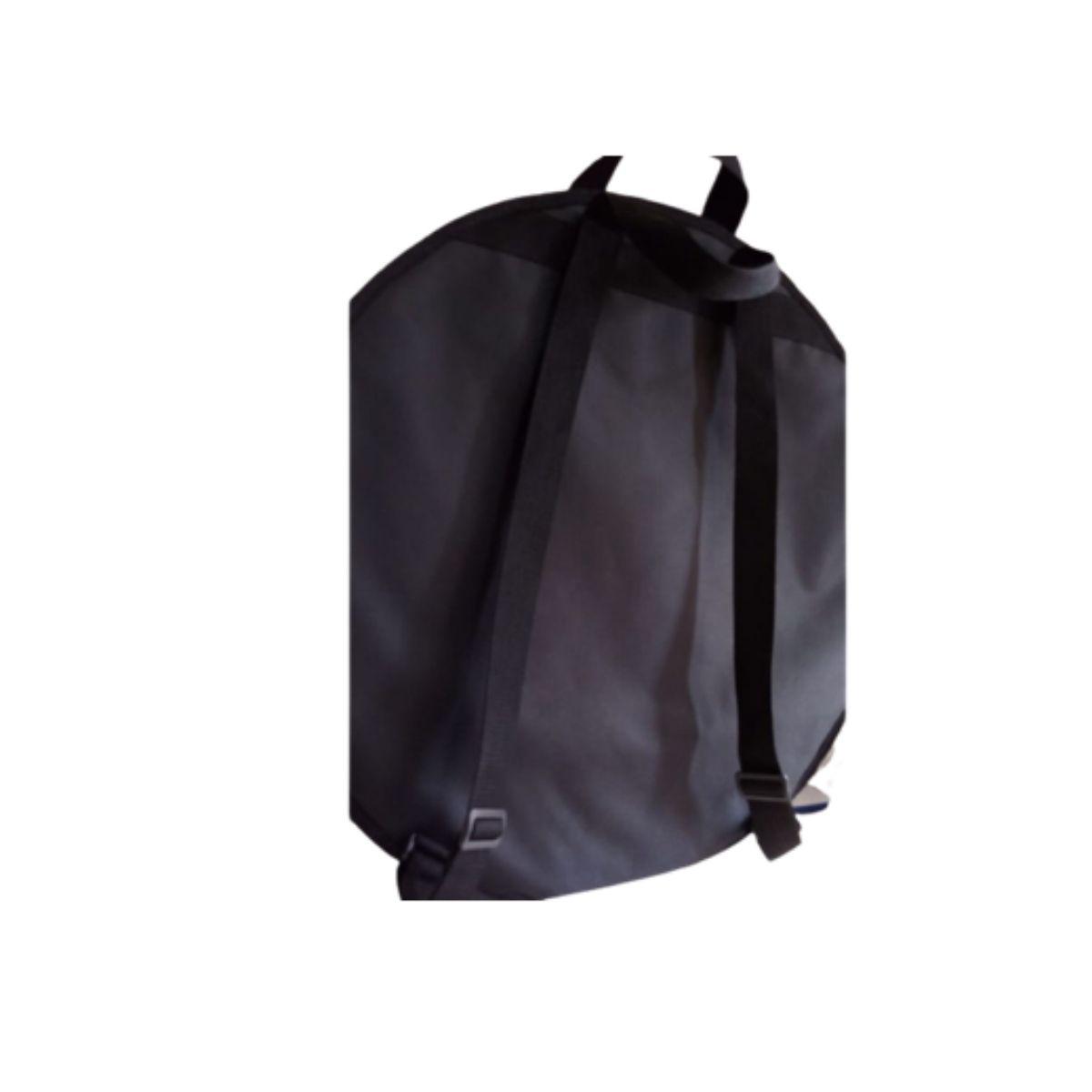 Capa Bag Prato Bateria Soft Case Kit C Sep Até 24 Almofadada
