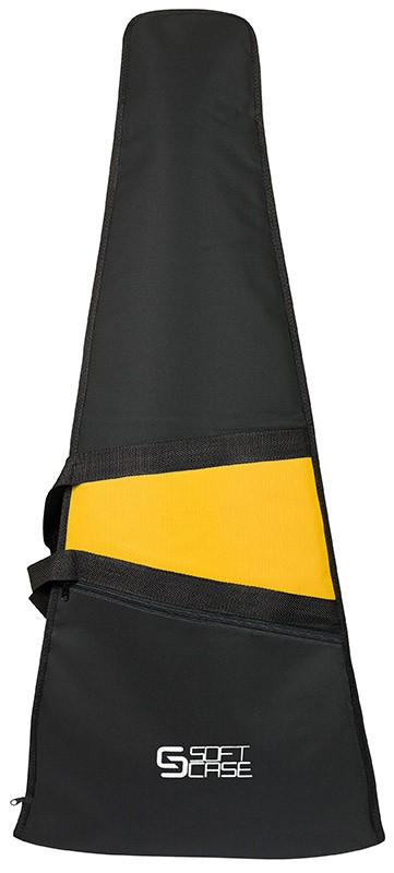 Capa Baixo Soft Case Start Almofadada - Amarelo