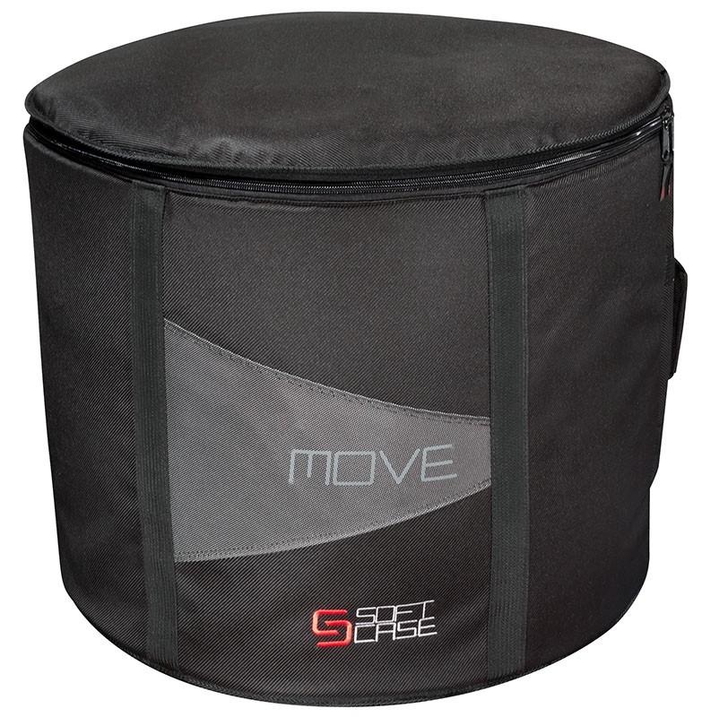 Capa Bumbo Soft Case Move 22x18 Super Luxo