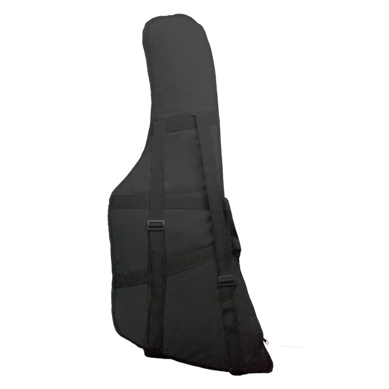 Capa Guitarra Soft Case Start Explorer Almofadada - Preto