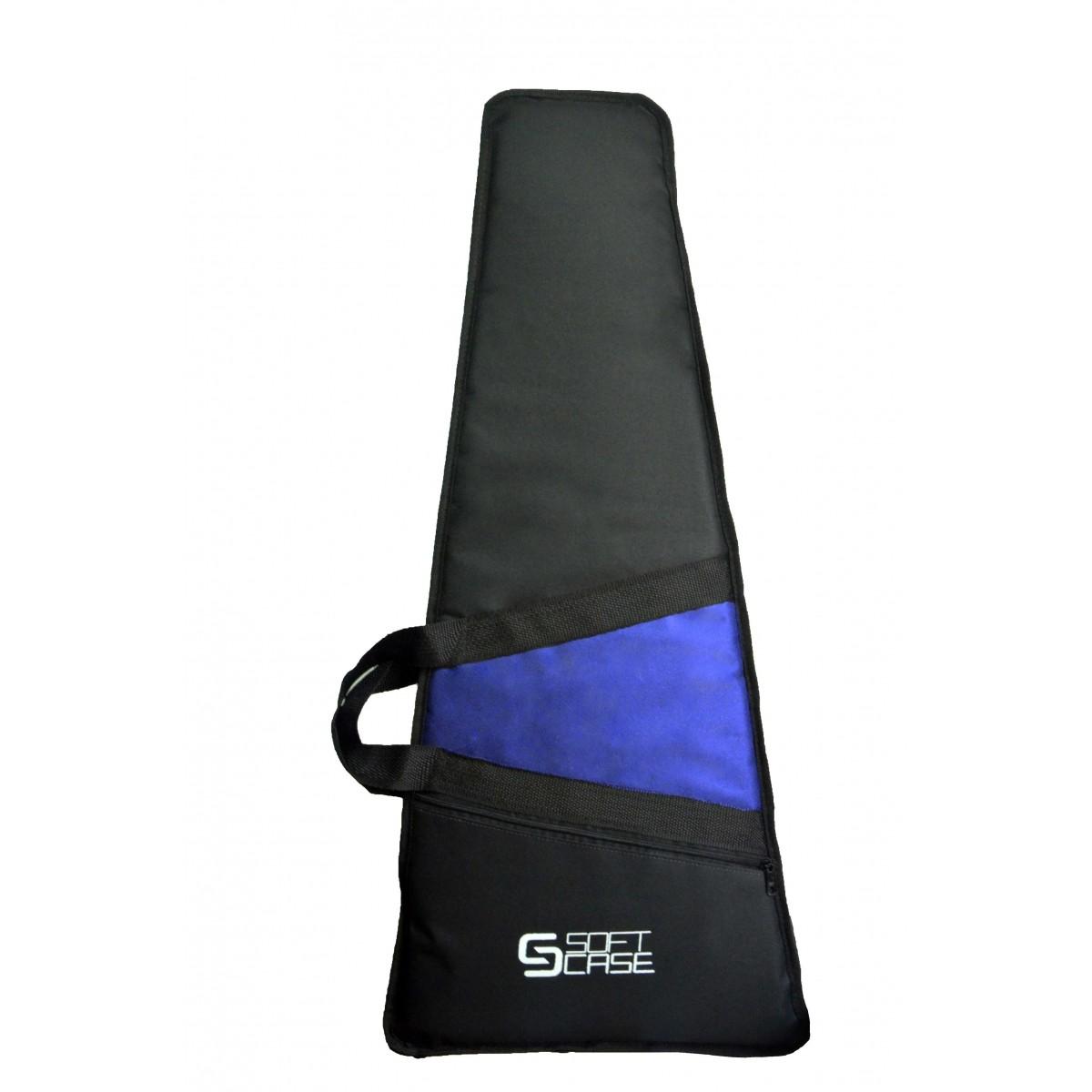 Capa Guitarra Soft Case Start Infantil Almofadada - Azul