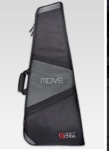 Capa Para Guitarra Razorback Soft Case Move 1,33x0,53x0,04