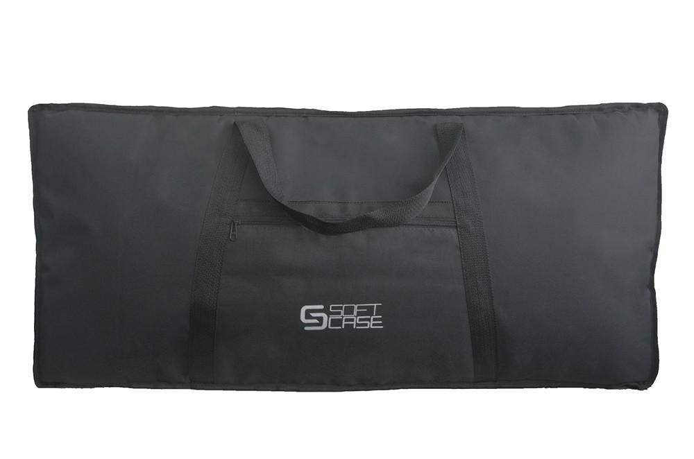 Capa Piano Digital Soft Case Start 7/8 G Almofadada - Preto