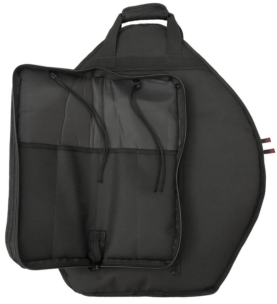 Capa Prato Soft Case Move Almofadado Super Luxo com Baqueteira Removivel