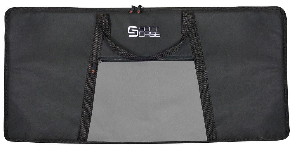 Capa Teclado Soft Case Start 5/8 G Almofadada - Cinza