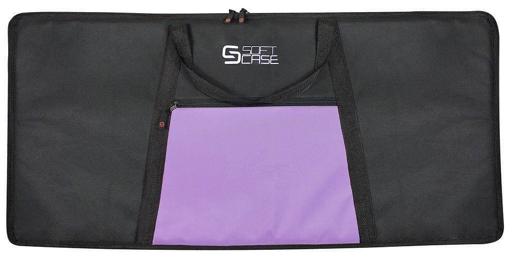 Capa Teclado Soft Case Start 5/8 G Almofadada - Lilás