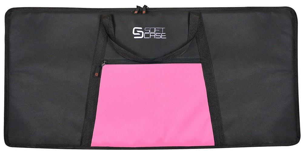 Capa Teclado Soft Case Start 5/8 G Almofadada - Rosa