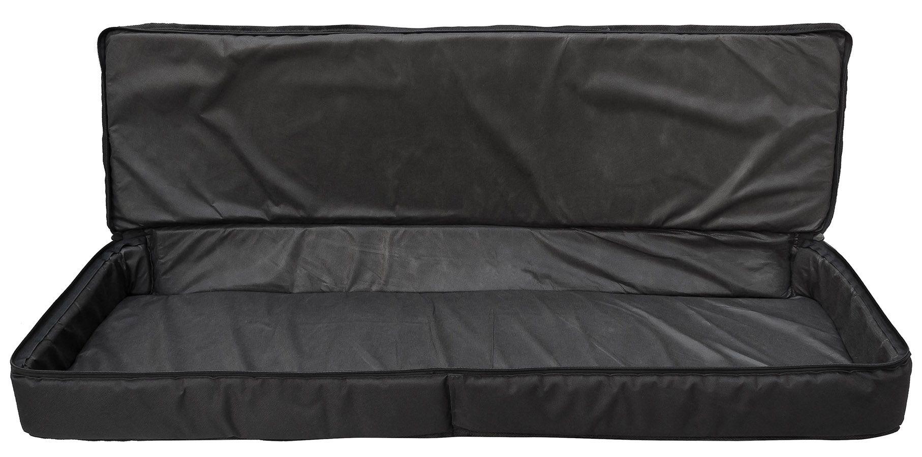 Capa Teclado Soft Case Start 5/8 P Almofadada - Preto