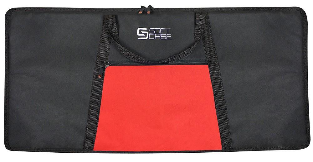 Capa Teclado Soft Case Start 5/8 P Almofadada - Vermelho