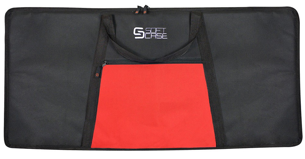 Capa Teclado Soft Case Start 6/8 Almofadada - Vermelho